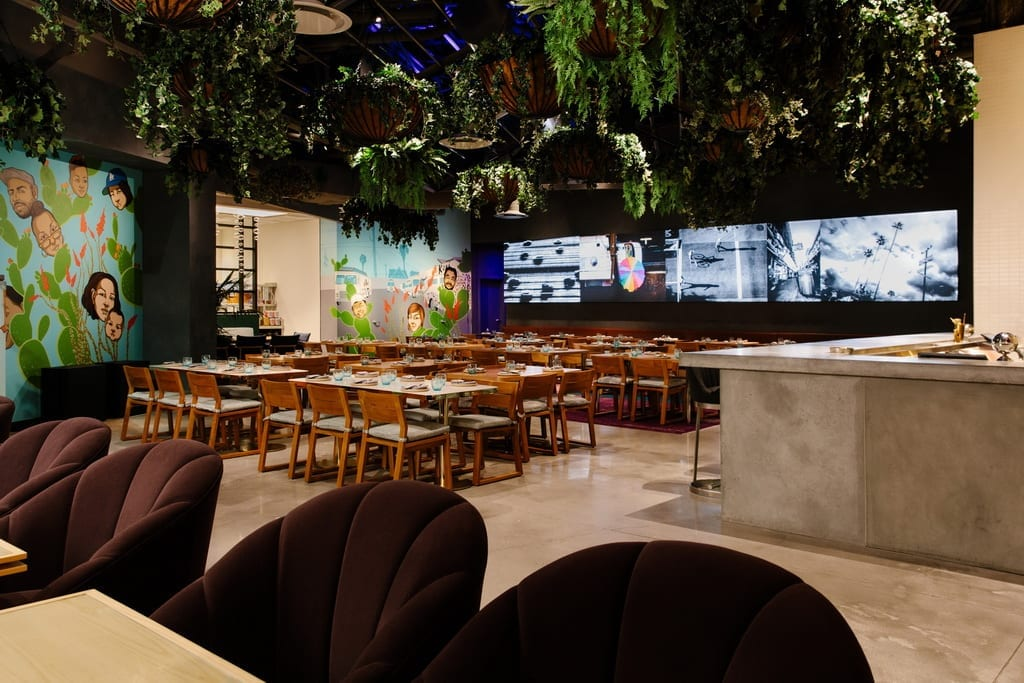 Dining Room at Best Friend, a Korean BBQ Joint by LA Culinary Legend Roy Choi