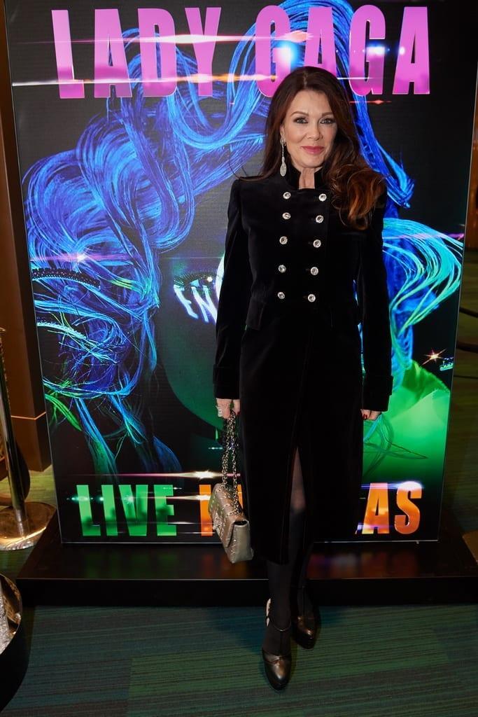 Lisa Vanderpump attends premiere of LADY GAGA ENIGMA at Park MGM in Las Vegas.