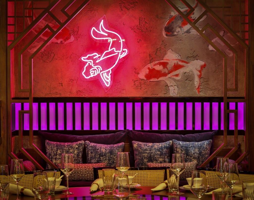 Private dining room at Mott 32 at The Venetian Resort Las Vegas_credit Erik Kabik