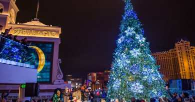The Cosmopolitan of Las Vegas Tree Lighting