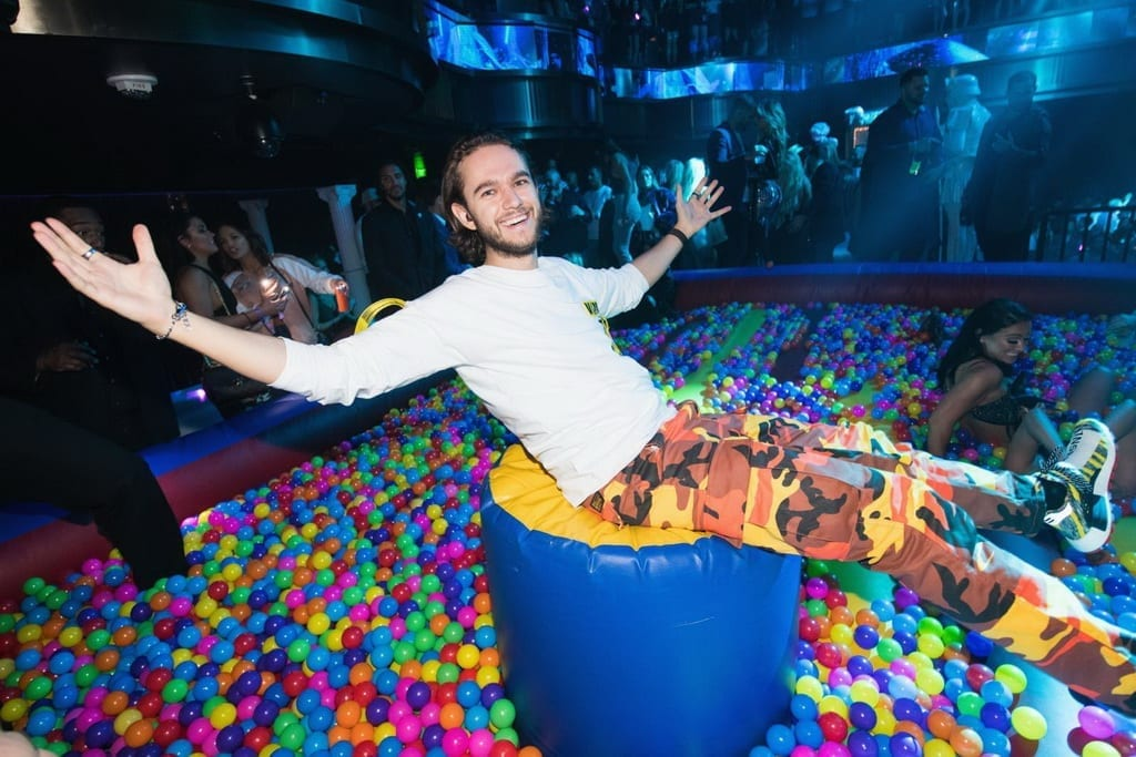 Zedd's Over-The-Top Party Photos Inside OMNIA Nightclub