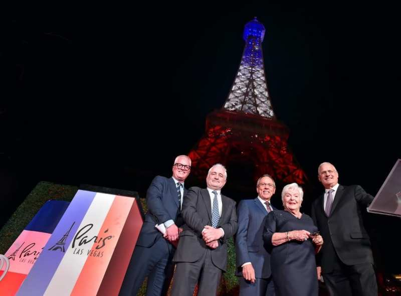 Eiffel Tower Light Show Debut