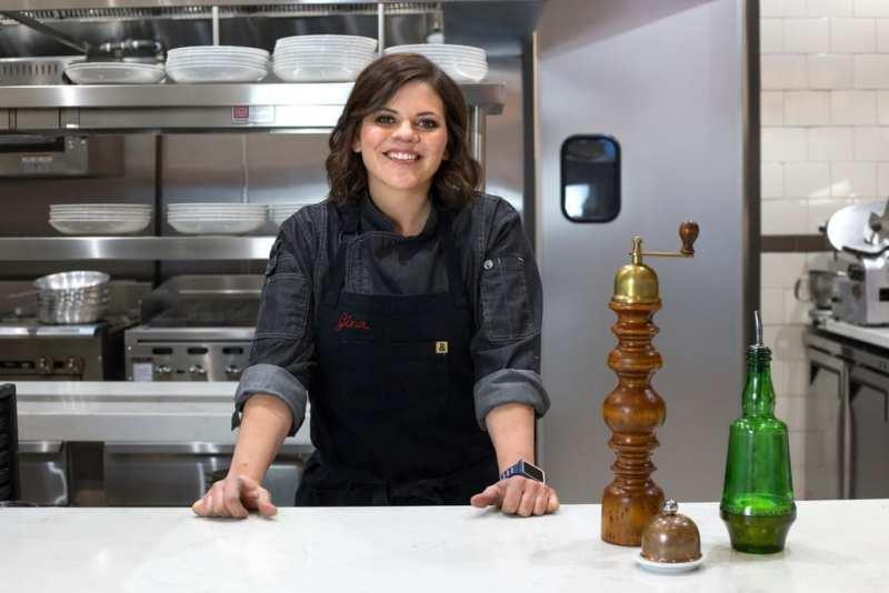 Gina Marinelli at La Strega