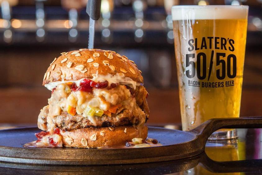 Slater's 50/50 Rolls Out 'Rebel Gastropub' Branding