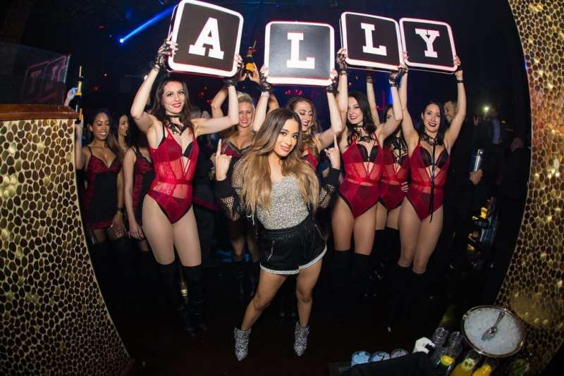 Ally Brooke at TAO Las Vegas