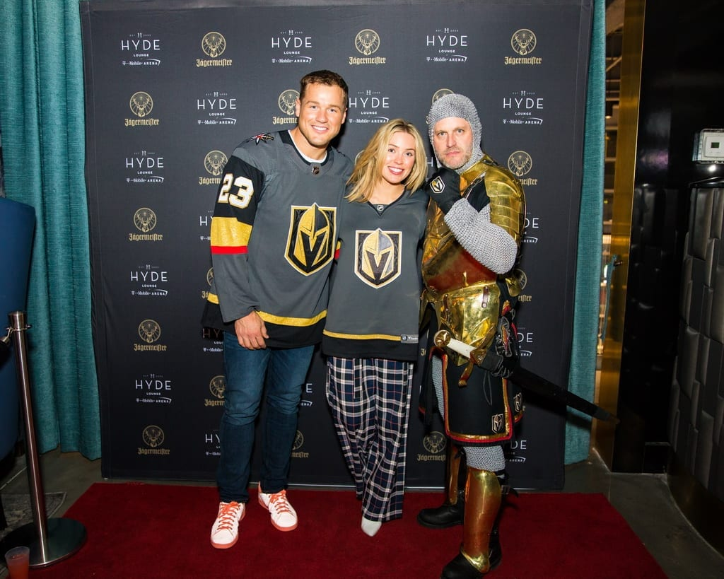 The Bachelor's Colton Underwood & Cassie Randolph at Hyde
