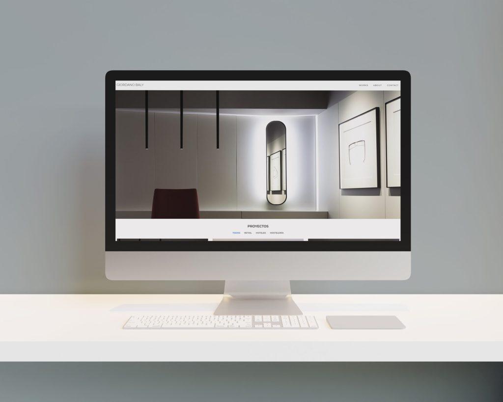 Orden y minimalismo, portfolio del arquitecto Giordano Baly