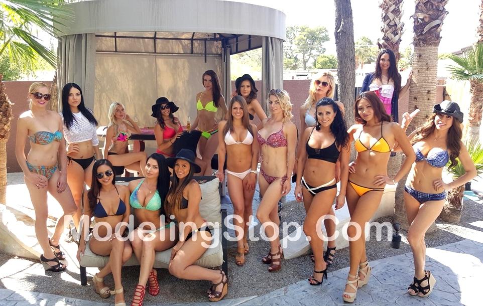 Event photos las vegas cabana girls atmosphere models for Pool show vegas 2016