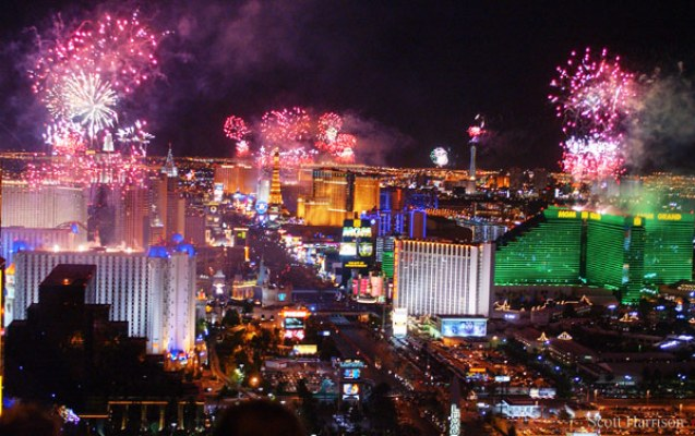 New Year's Eve Las Vegas Fireworks & More Information 2019 ...