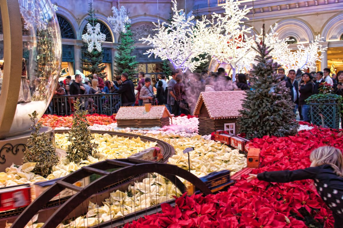 Winter Theme at Bellagio Las Vegas