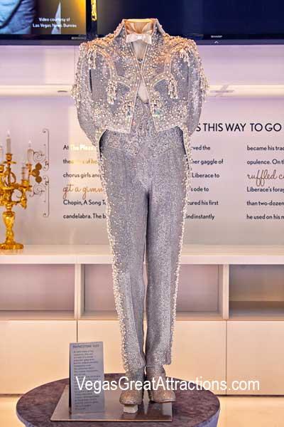 Liberace's Rhinestone Suit