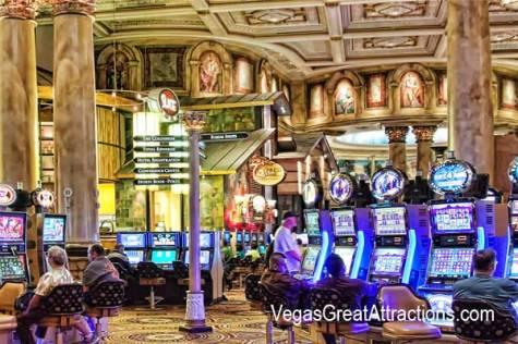 Caesars Casino direction indicator