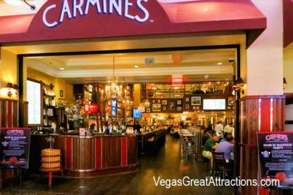 Carmines Restaurant at Forum Shops at Caesar Palace