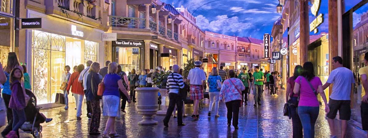 The Forum Shops at Caesars Palace is not only about shopping!