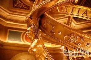 Fountain Detail - Venetian Hotel Lobby