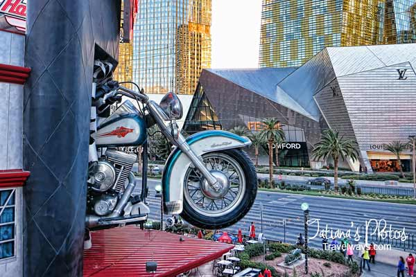 Harley Davidson Cafe on the Strip