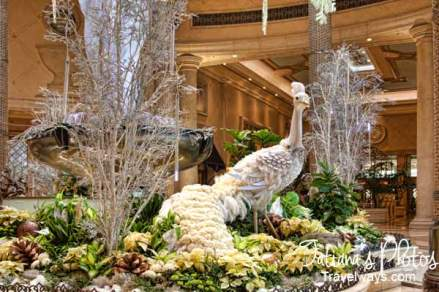 Winter decorations at Palazzo, Las Vegas