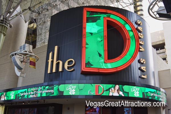 The D casino on St. Patrick's Day 2015, Las Vegas