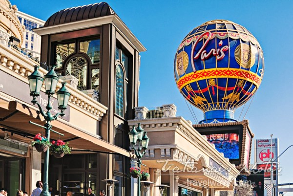 Montgolfier sign on Las Vegas Strip