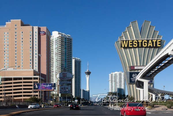 Las Vegas Westgate hotel sign - February 2015