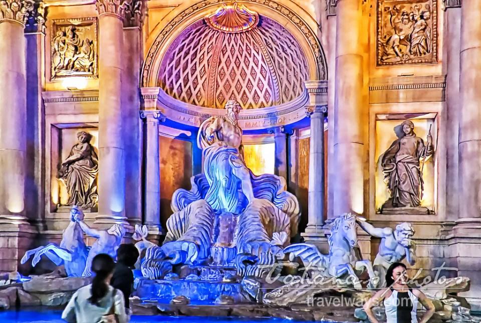 Trevi Fountain at Caesars Palace, Las Vegas