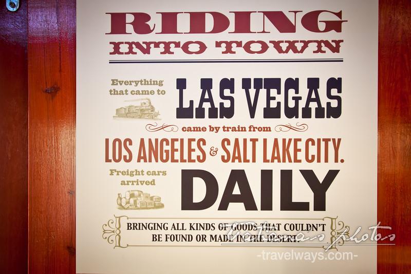 Las Vegas Union Pacific Train