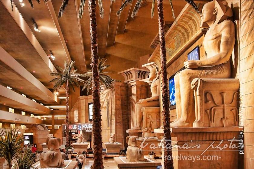 Inside Luxor Hotel, Las Vegas