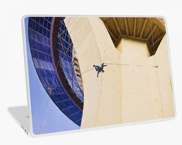 Stratosphere Tower Laptop skin