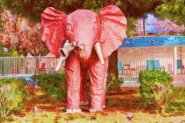 Las Vegas Pink Elephant