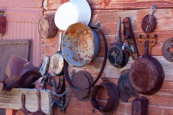 Junk / Yard Art Display