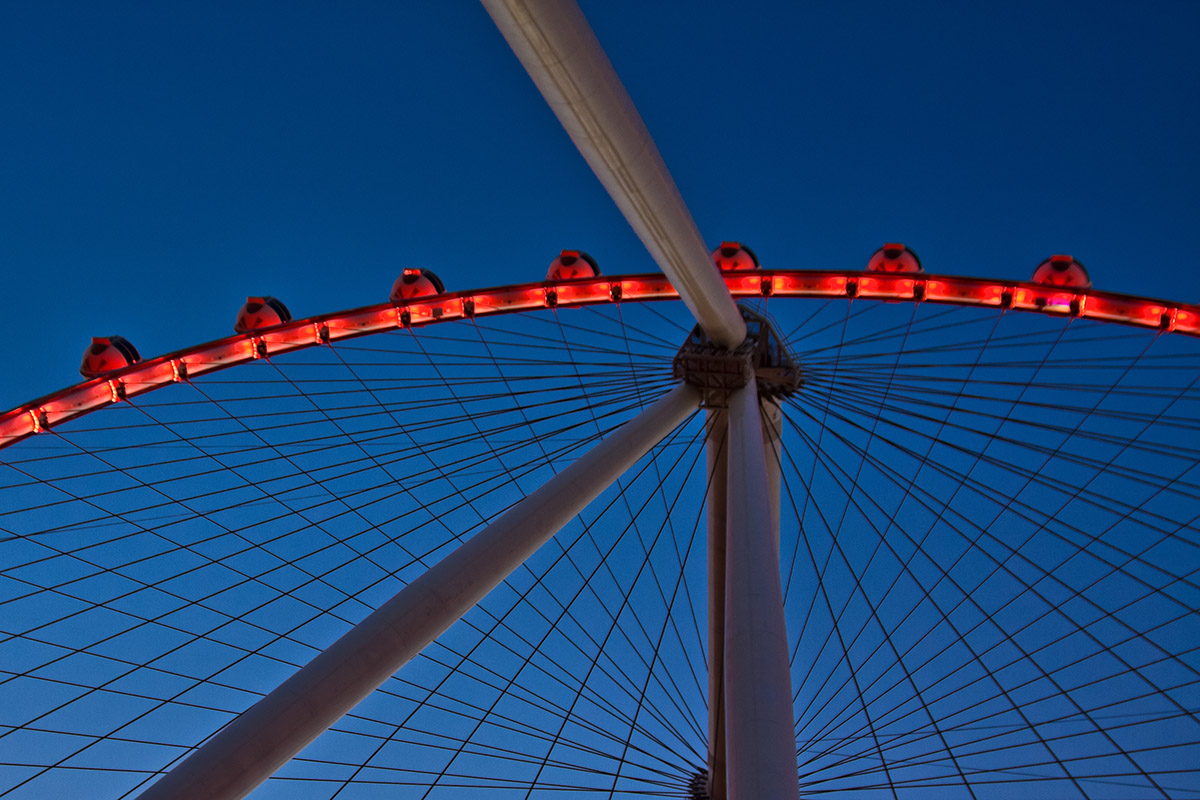 High Roller Wheel at The LINQ in Las Vegas