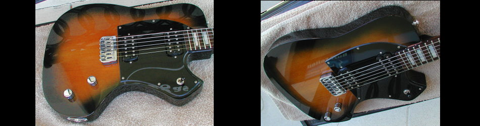 vegas guitars custom shop fine guitars by neil smith. Black Bedroom Furniture Sets. Home Design Ideas