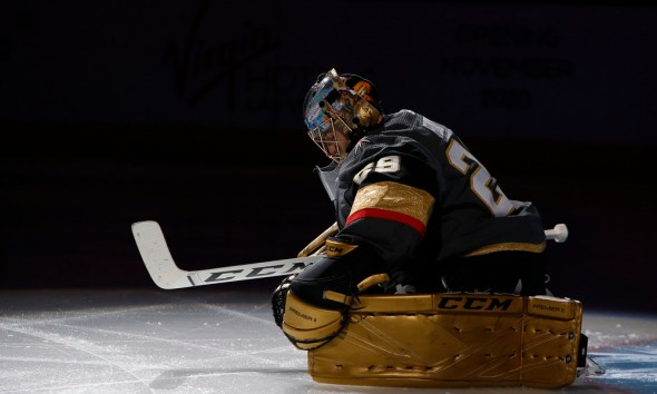 Marc-Andre Fleury Vegas Golden Knights training camp