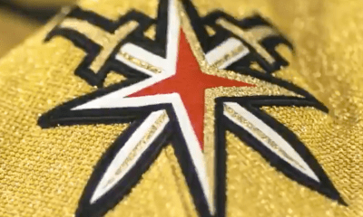 Vegas Golden Knights Gold jersey