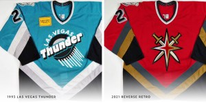 Vegas Golden Knights Fourth Red Jersey