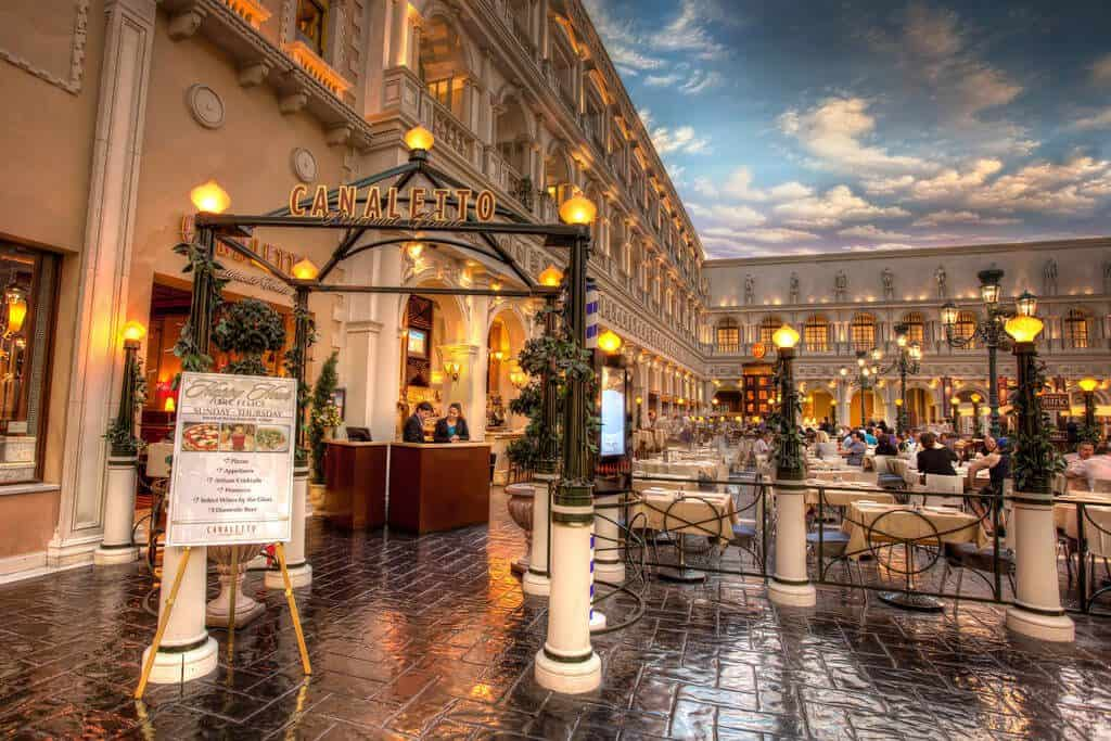 Canaletto - Top Italian Restaurants in Las Vegas