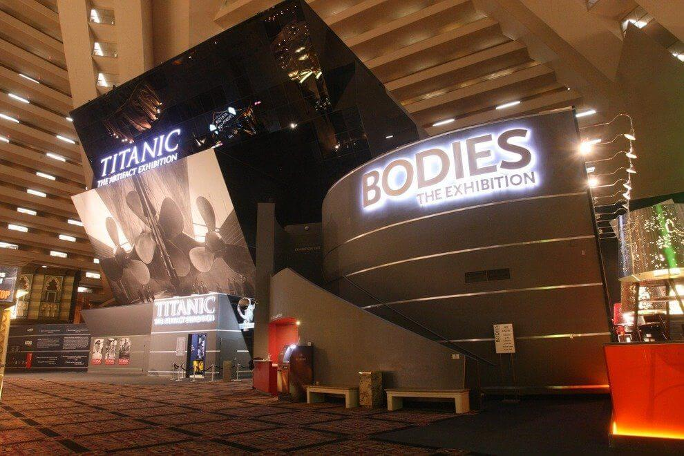 Titanic The Artifact Exhibition Las Vegas - Vegas Museums