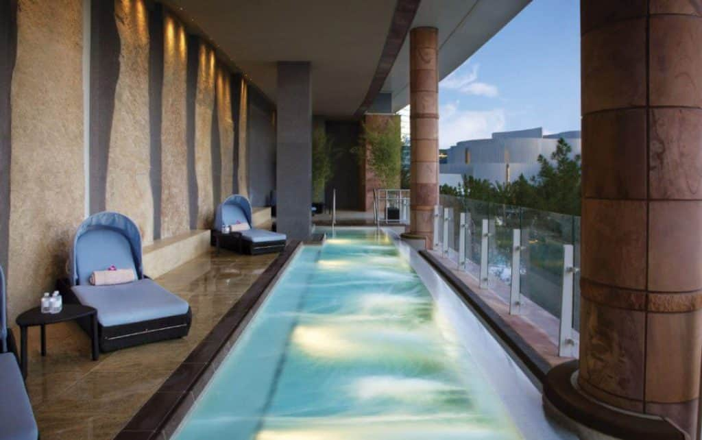 Massage at The Aria - Romantic things to do in Las Vegas