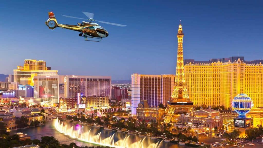 Maverick Las Vegas Strip Helicopter Tour - Las Vegas Attractions for Couples