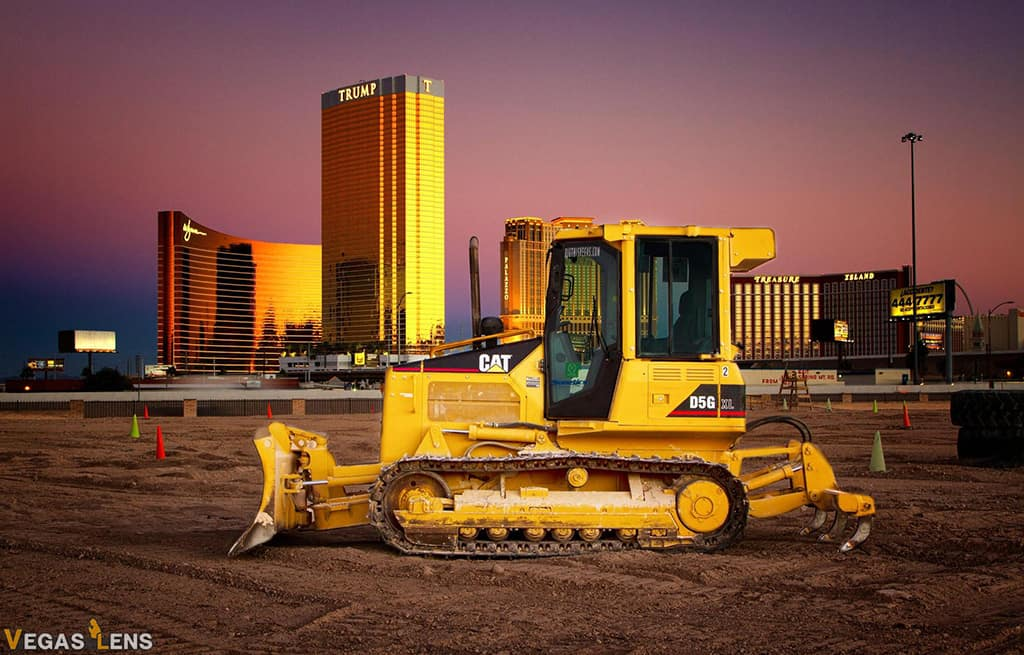 Drive a Bulldozer at Dig This Las Vegas - Romantic things to do in Vegas