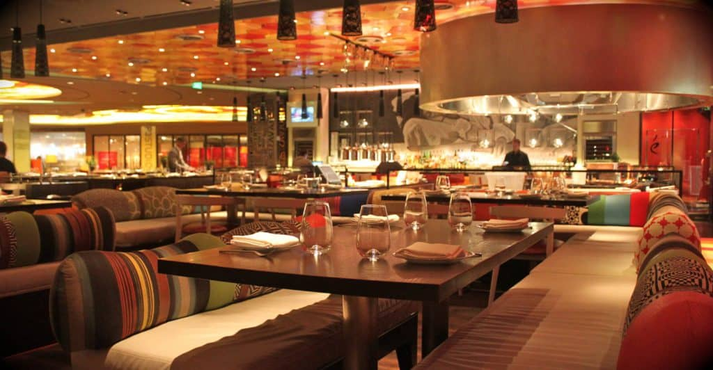 Jaleo at the sexy Cosmopolitan Hotel - Best Restaurants in Las Vegas for Bachelorette Party