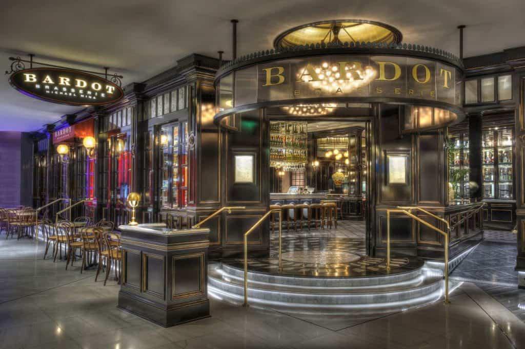 Michael Mina's Parisian-style bistro, Bardot - Restaurants in Las Vegas for Bachelorette Party