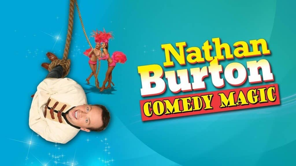 Nathan Burton Comedy Magic Show - Vegas Comedy Shows