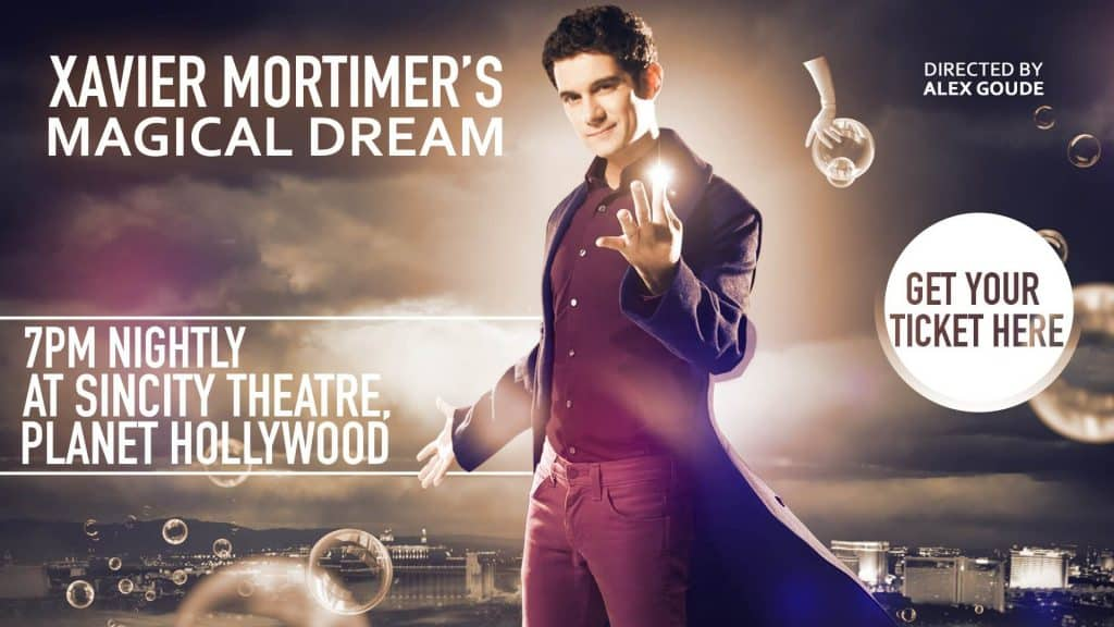 Xavier Mortimer's Magical Dream - Best Magic Shows in Vegas