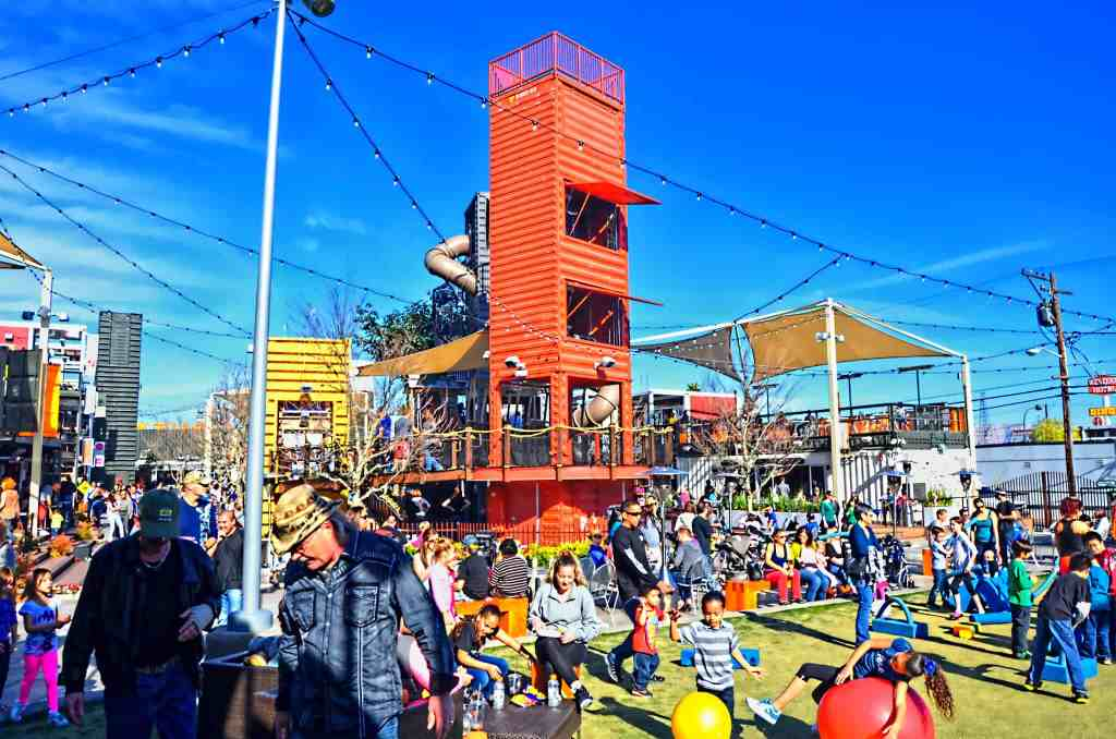 Downtown Container Park - Things to do on Vegas Strip