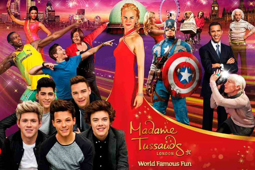 Madame Tussauds - One of Things to do in Las Vegas with Kids and Kids Activities in Las Vegas