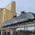Mandalay Bay Excalibur Tram