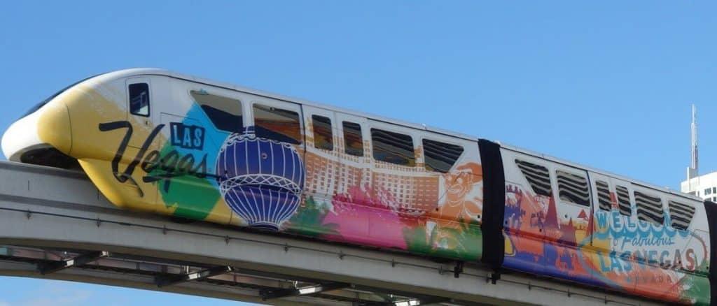 Monorail in Vegas - Best Vegas Transportation