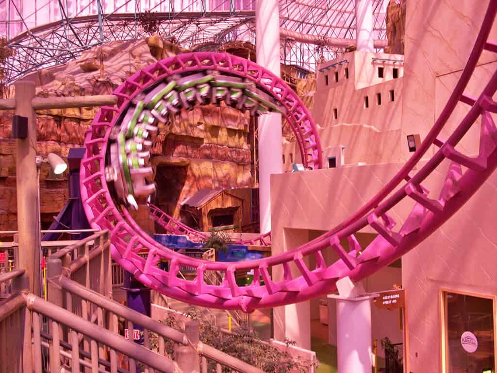 The Canyon Blaster at Circus Circus - Things to do on Vegas Strip