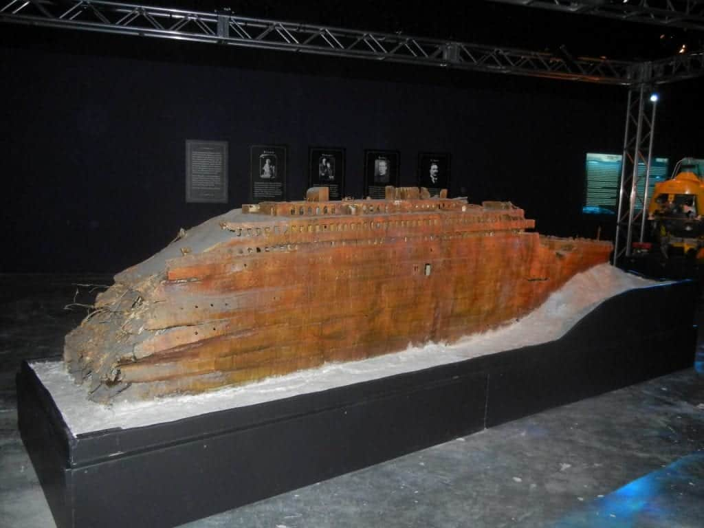 Titanic Artifact Exhibition - Things to do in Las Vegas Strip